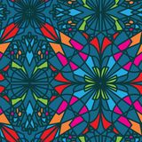 Seamless pattern beautiful decorative arabesque Stock Images