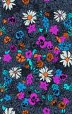 Seamless pattern beautiful decorative flowers Stock Photography