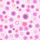 Seamless pattern with beautiful flowers Royalty Free Stock Image