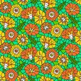 Seamless pattern with beautiful gentle bindweeds  Stock Photos