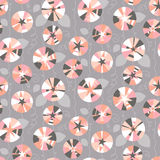 Seamless pattern with beautiful gentle bindweeds.  Stock Images