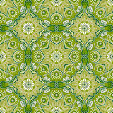 Seamless pattern with beautiful Mandalas. Vector illustration Royalty Free Stock Photo