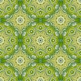 Seamless pattern with beautiful Mandalas. Vector illustration Royalty Free Stock Photo