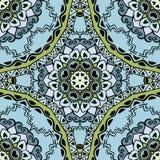 Seamless pattern with beautiful Mandalas. Stock Images