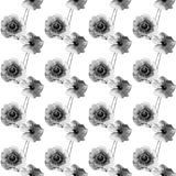 Seamless pattern with Beautiful Poppy flowers. Watercolor painting Stock Photography