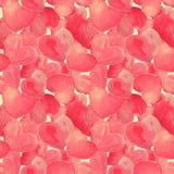 Seamless pattern of beautiful watercolor hearts Stock Image