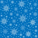 Seamless pattern. Beautiful winter snowflakes. Suitable as packaging for Christmas gifts. Creates a festive mood. Vector vector illustration