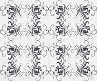 Seamless pattern with beauty flower Stock Photo
