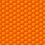 Seamless pattern with bee honeycombs and honey Royalty Free Stock Image