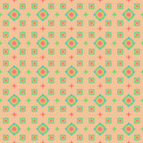 Seamless pattern on a beige background Royalty Free Stock Photo