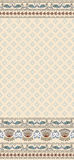 Seamless pattern on a beige background with a wide Royalty Free Stock Images