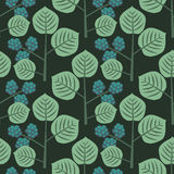 Seamless pattern with berries Royalty Free Stock Photos