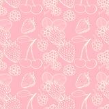 Seamless pattern  of berries Stock Image