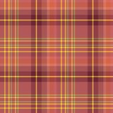 Seamless pattern in berry red, pink, yellow and light green colors for plaid, fabric, textile, clothes, tablecloth and other thing. S. Vector image vector illustration