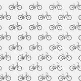 Bikes in dark colors. Seamless pattern. Bikes in dark colors Royalty Free Stock Photos