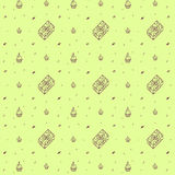Seamless pattern of birthday Royalty Free Stock Images