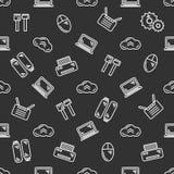 IT seamless pattern Royalty Free Stock Image