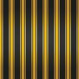 Seamless pattern. Black background with golden lines. Vector illustration stock illustration