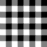 Seamless pattern in black cell. Royalty Free Stock Image
