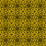 Seamless pattern of black lace Royalty Free Stock Image