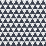 Seamless pattern Black triangle on white Royalty Free Stock Photo