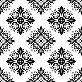 Abstract ethnic black and white seamless pattern. Ethnic stock image