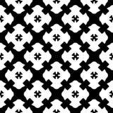 Seamless pattern, black & white gothic texture Royalty Free Stock Image