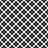 Seamless pattern, black & white gothic texture Royalty Free Stock Photo