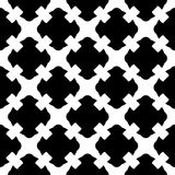 Seamless pattern, black & white gothic texture Stock Photos