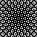 Seamless pattern, black and white ornamental texture Stock Image