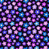 Seamless pattern with blossoms. For textiles, interior design, for book design, website background Stock Photo