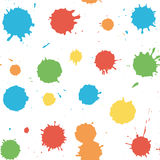 Seamless pattern with blots and splashes. Vector seamless pattern with blots and splashes. Seamless pattern can be used for wallpaper, pattern fills, web page Stock Photography