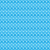 Seamless pattern of blue abstract crosses Royalty Free Stock Photo