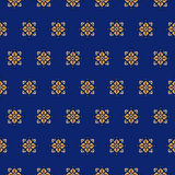 Seamless pattern on a blue background 2 Stock Images