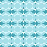 Seamless pattern with blue circles. Abstraction of dark and light blue circles royalty free illustration