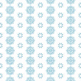 Seamless pattern with blue snowflakes white background. Seamless pattern with blue snowflakes on white background Royalty Free Stock Images