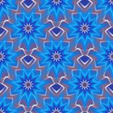 Seamless pattern with blue stars. Endless texture for wallpaper, web page background, textile design, wrapping paper Royalty Free Illustration