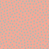 Seamless pattern with blue stars on pink background Royalty Free Stock Photos