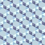 Seamless pattern of blue triangles. Seamless pattern blue triangles. Used as a backdrop, seamless texture. blue background Royalty Free Stock Photos