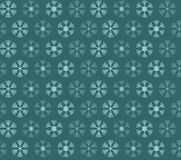 Seamless pattern with blue and white christmas snowflakes Stock Photo