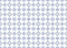 Seamless ethnic blue flower pattern for ceramic tiles. Seamless pattern in blue and white. Endless pattern can be used for ceramic tile, wallpaper, linoleum vector illustration