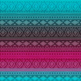 Seamless pattern. Boho ethnic bands. tribal style design. Stock Photography