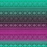 Seamless pattern. Boho ethnic bands. tribal style design. Stock Photos