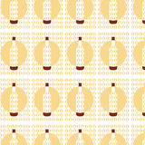 Vector seamless vintage pattern with bottles Royalty Free Stock Photo
