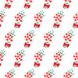 Seamless pattern bouquet of flowers Royalty Free Stock Photography