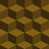 Seamless pattern with boxes Stock Photo