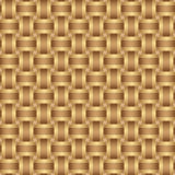 Seamless pattern braided brown ribbon Royalty Free Stock Images