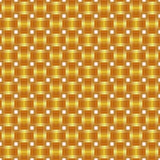 Seamless pattern braided gold ribbon Royalty Free Stock Images