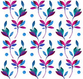 Seamless pattern with branches Stock Photo