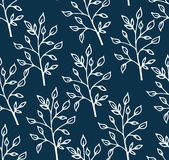 Seamless pattern with branches. Royalty Free Stock Photography